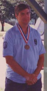 Roger in 1st Pl. LEO Olympics